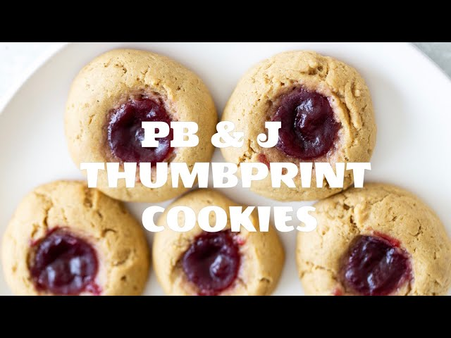 PB & J Thumbprint Cookies | Vegan Richa Recipes