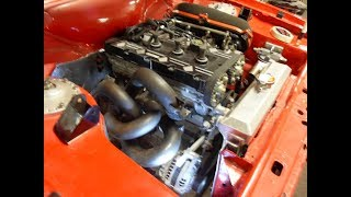 GROUP 4 MK2 ESCORT RS2000 RESTORATION MILLINGTON 2.0 LITRE. PART 1
