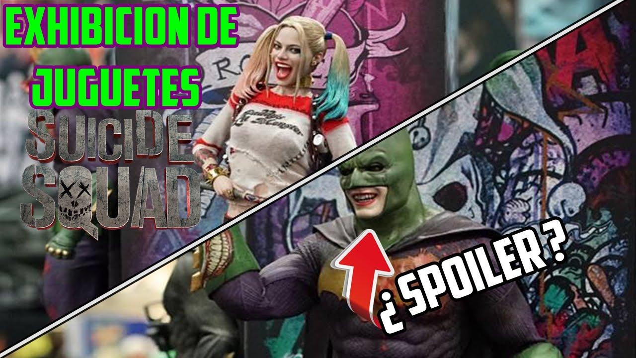 Suicide Exhibición 6gyv7byf Squad¿batman Jokeryoutube Juguetes De EIbDHWY9e2
