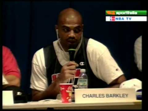 Sir Charles Barkley funny moments - Dream Team 1992 Barcelona