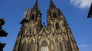 Кёльн и Кёльнский собор. Жизнь в Германии и путешествия. Мини-Экскурсия. Kölner Dom.(Мое видео