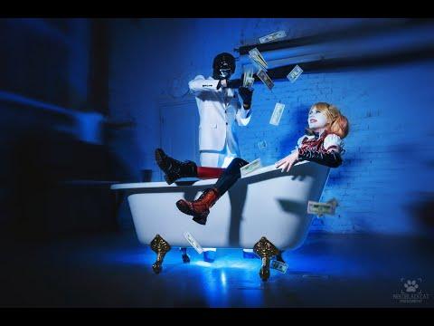 Lady Integra,  Batman Arkham Knight cosplay,  Harley Quinn on Game & Film Expo 2016