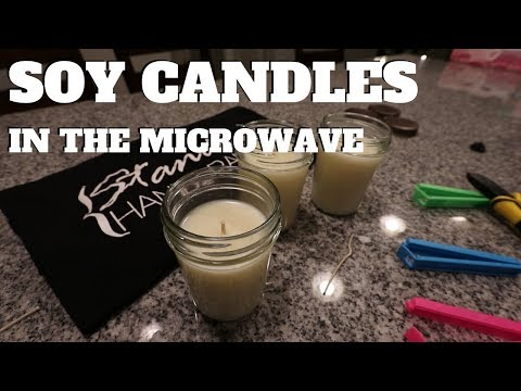 Make Soy Candles In The Microwave - Easy To Follow DIY