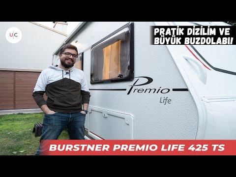Bürstner Premio Life 425 TS | U CARAVAN | KARAVAN TANITIM