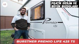 Bürstner Premio Life 425 TS   U CARAVAN   KARAVAN TANITIM