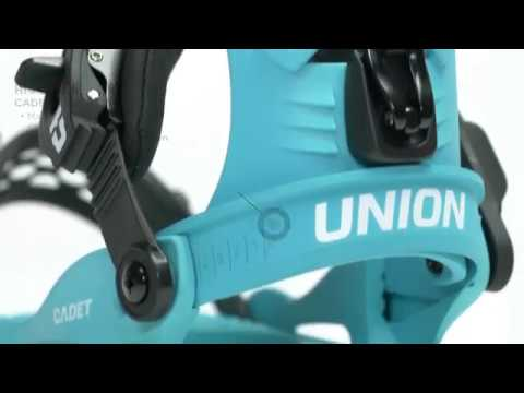 Union Cadet XS Kids Snowboard Bindings