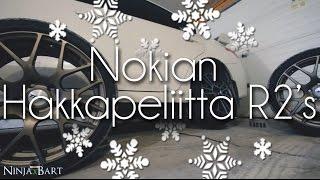 видео Nokian Hakkapeliitta R2