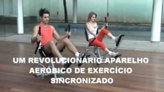 SIMULADOR DE CAMINHADA HORIZONTAL CARDIO ACTION KENKORP.flv