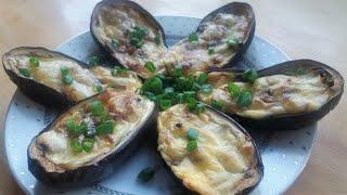ОБАЛДЕННЫЕ баклажаны, фаршированные грибами с сыром: рецепт в духовке