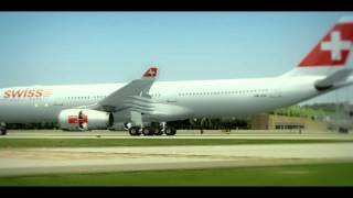 I AM BACK - Swiss Airlines Airbus A330-300 - Landing in Zurich Airport - FS2004
