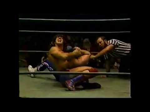 Tommy Rich And Rick Martel Tag Match. Georgia Championship Wrestling . 1978