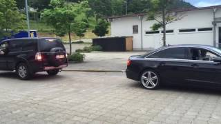 Mitsubishi Pajero V80 vs Audi A6