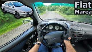 2001 Fiat Marea 2.0 20V (5cyl engine) | POV test drive | #DrivingCars