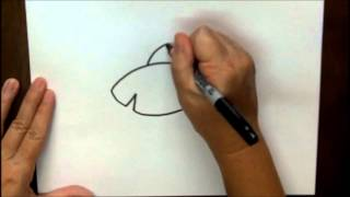 How To Draw A Shark Step By Step Cartoon Drawing Lesson For Children