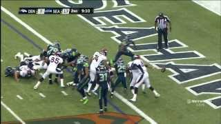 Crazy Seattle Touchdown. Recover Fumble And Run 100+ Yards. 8/17/13