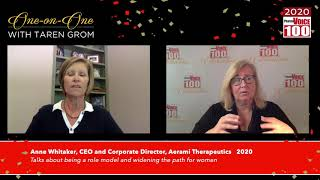 Anne Whitaker, Aerami Therapeutics – 2020 PharmaVOICE 100 Celebration