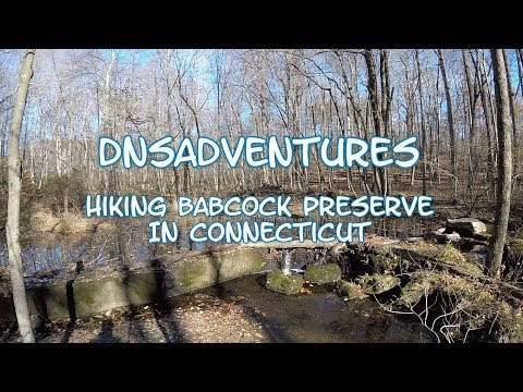 DnSAdventures - Hiking Babcock Preserve In Connecticut