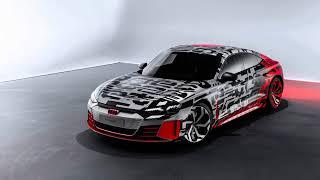 Audi Привезет В Лос-Анджелес Концепт Электрокара E-Tron Gt