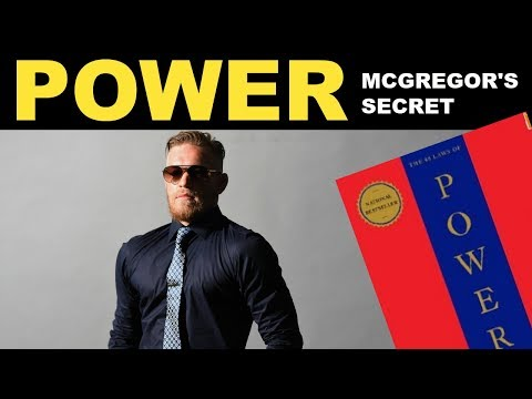 How Conor McGregor Uses The 48 Laws Of Power | Practical book summary