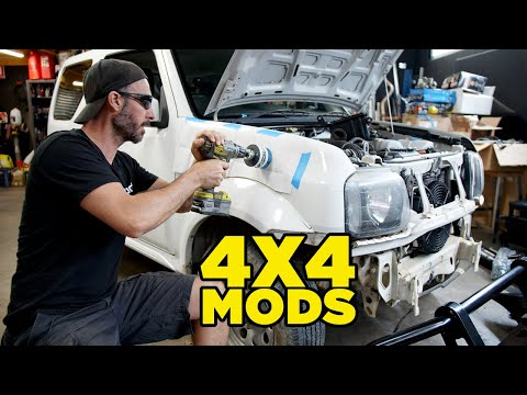 Our First 4X4 Build (SO MANY MODS!!)
