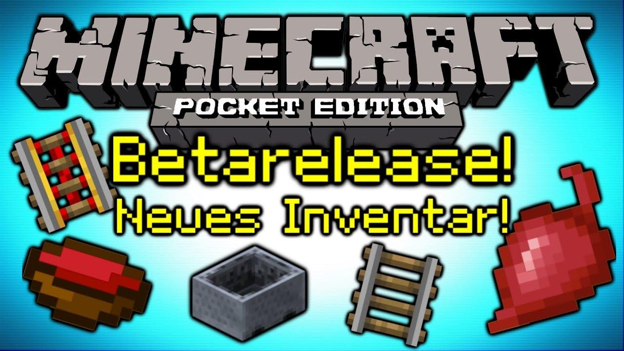 update minecraft pe 0 8 0 0 9 0 rote bete betarelease flache welten minecarts deutsch hd. Black Bedroom Furniture Sets. Home Design Ideas
