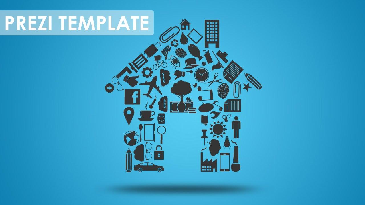 new home - prezi template