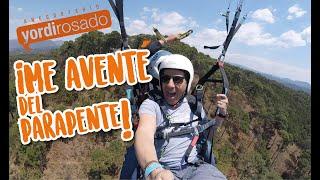 Parachute, ¡GRABANDO desde las alturas!