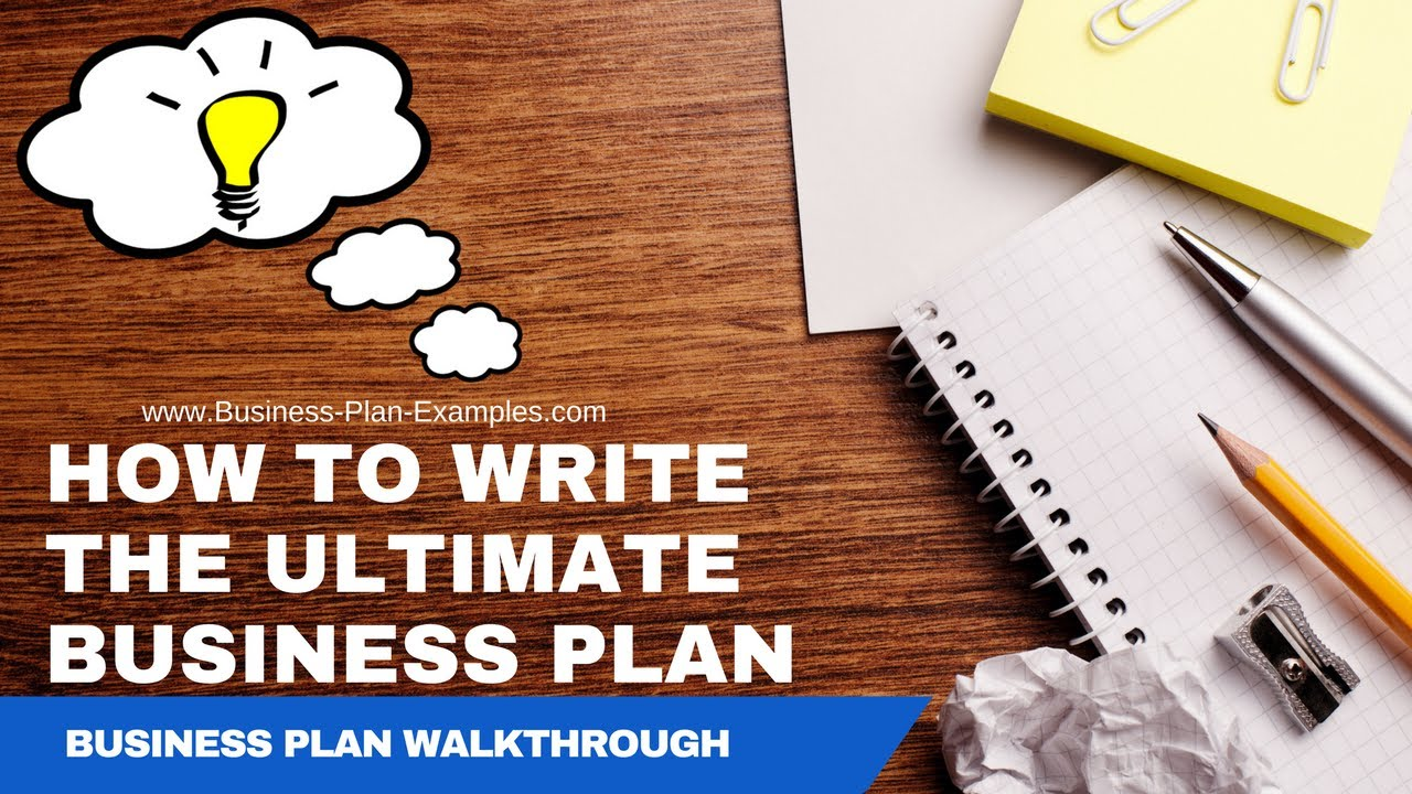 complete business plan example