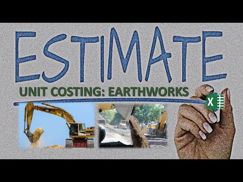 Unit Cost Analysis for Earthworks (Excavation & Backfilling)