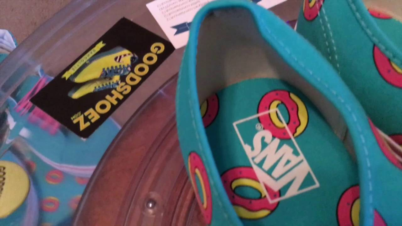 fcac2aa29125 Vans x Odd Future Authentic - (OF Donuts) Scuba Blue   Pink - 9.24.2016 -  YouTube