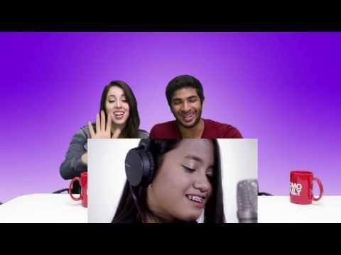 Reaksi Orang Inggris Mendengarkan Hanin Dhiya nyanyi Lagu Despacito X Sorry