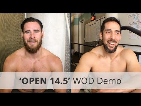 """CrossFit """"Open 14.5"""" WOD Demo & Workout Tips - 10:51 Rx"""