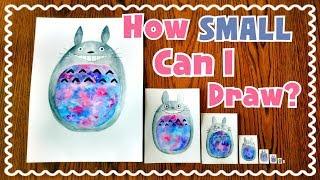 ☆ Teeny Weeny Art CHALLENGE || How Small Can I Draw? ☆