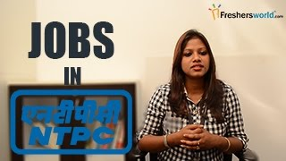 NTPC- National Thermal Power Corporation Recruitment –NTPC jobs by GATE, Exam dates & results