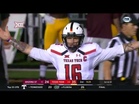 Arizona State vs Texas Tech Football Highlights