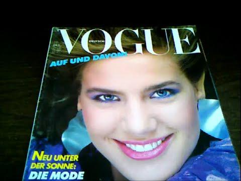 Terry Farrell Deutsch Vogue 1982 April