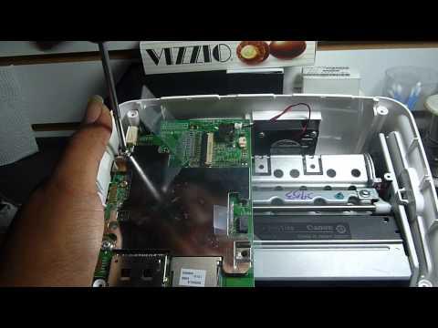 tutorial de reparación de una impresora fotográfica CANON SELPHY CP 760 cartucho atascado 2/5