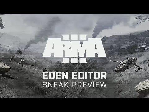 Eden 3D Editor Official Sneak Preview - Arma III