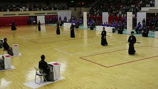 Final of All Japan iaido championship 2018