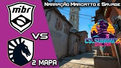 MIBR VS TEAM LIQUID CS SUMMIT 6 NA  MD3 SEGUNDO MAPA INFERNO
