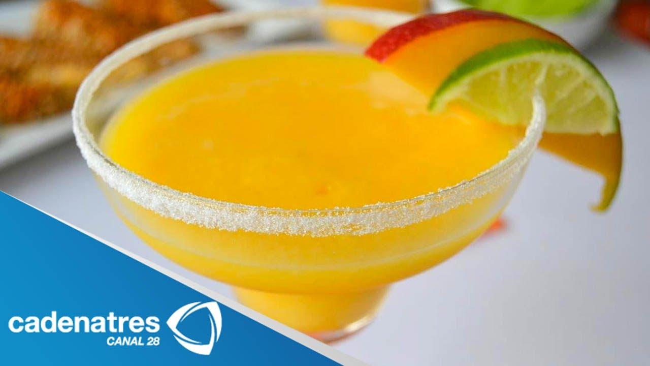 Receta para preparar hot mango margarita cocteles dulces for Preparacion de margaritas