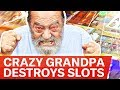 🔥 CRAZY GRANDPA PLAYING CASINO ONLINE \ SLOTS ONLINE 🔥