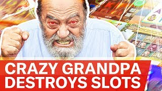 Crazy Grandpa live stream on Youtube.com