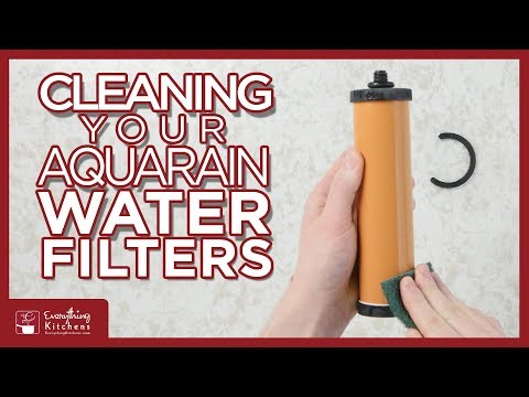 AquaRain 303 404 Cleaning Filters - How to Clean Water Filters for Aqua Rain