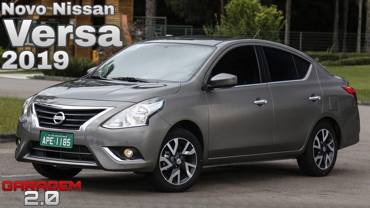 Novo Nissan Versa 2019 Está Mais Barato Garagem 2 0