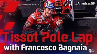 Francesco Bagnaia's Tissot Pole Lap