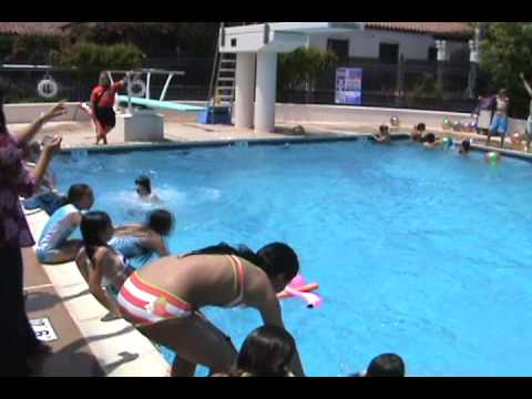 Loyola 6th grade 2009 pool party youtube - How to make a pool party ...