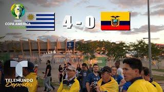 ¡Uruguay va por la 16! Conquista celeste en Belo Horizonte | Telemundo Deportes