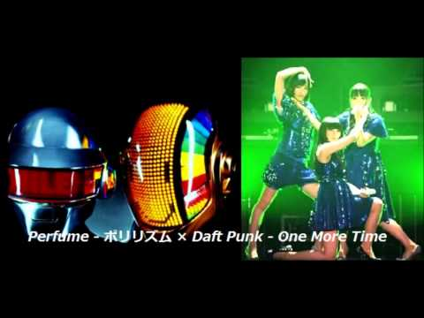 Perfume - Polyrhythm(ポリリズム) × Daft Punk - One More Time (mashup) [Zenji-mix]