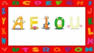 Vídeo Educativo Infantil Vogais - AEIOU -  Timbre Fechado